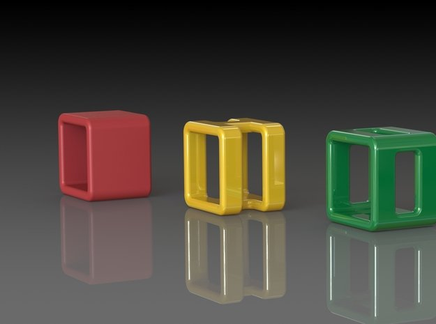 'NORMAN 1' - Ø18 in Red Processed Versatile Plastic
