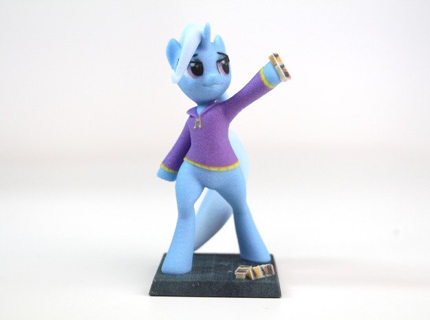 My Little Pony - The Great&Powerful Trixie 14cm in Full Color Sandstone
