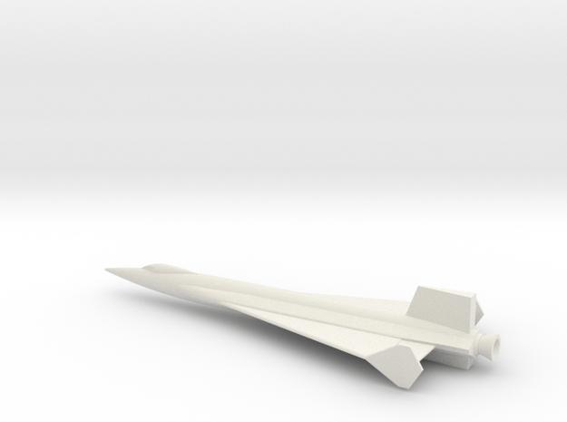 1/72 NAA DELTA WING X-15 USAF NASA in White Natural Versatile Plastic