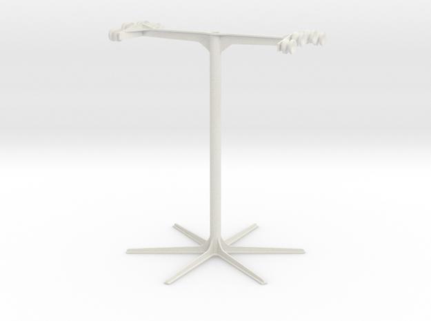 Ski Lift Tower in White Natural Versatile Plastic