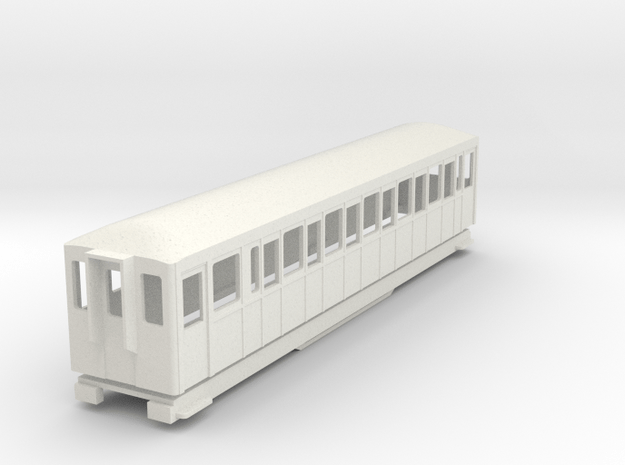 BM4-109 009 FR Coach 118 in White Natural Versatile Plastic