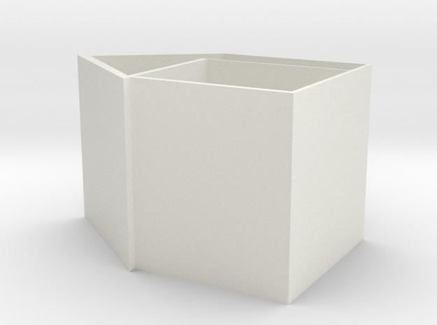 Birdhouse AP in White Natural Versatile Plastic