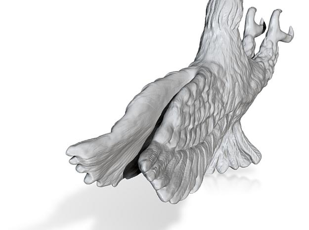 Eagle-4Cm in White Natural Versatile Plastic