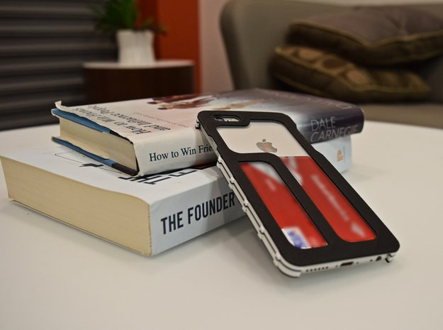 iPhone 6/6S Minimal Case in Black Natural Versatile Plastic