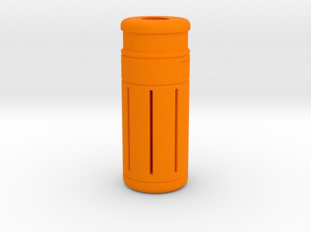 80 mm Orange Tip 14 mm CCW in Orange Processed Versatile Plastic