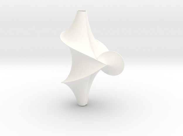 The Kuen Surface (1 turn) in White Processed Versatile Plastic