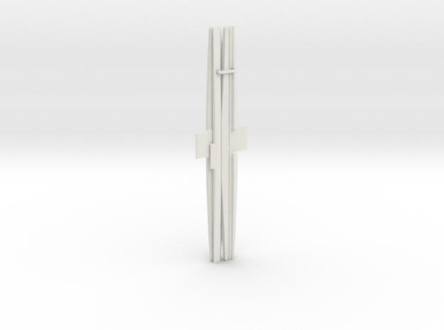 3DR Telemetry Antenna 915Mhz in White Natural Versatile Plastic