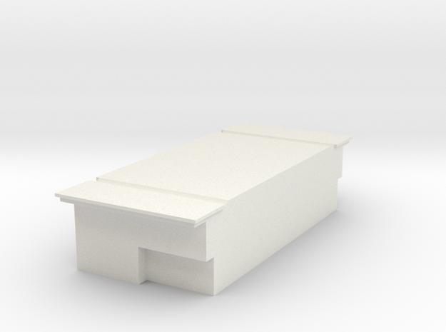 Dog Box in White Natural Versatile Plastic
