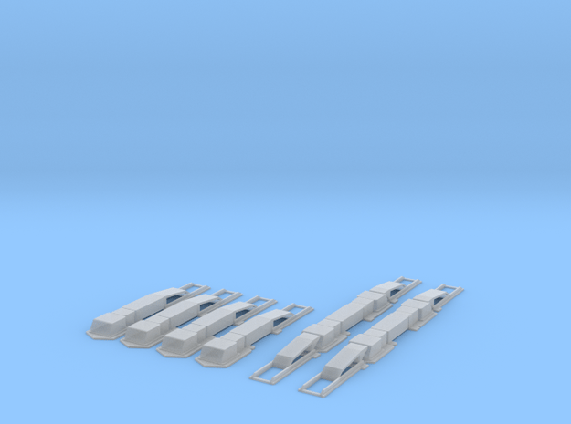 S-A-02 AWS Magnets  in Smooth Fine Detail Plastic
