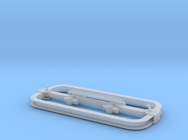 Lorenrahmen 1cbm Kipplore in IIf in Smooth Fine Detail Plastic