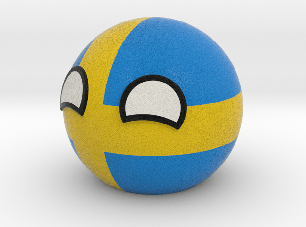 Swedenball in Full Color Sandstone
