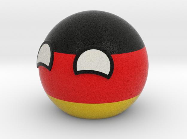 Germanyball in Full Color Sandstone
