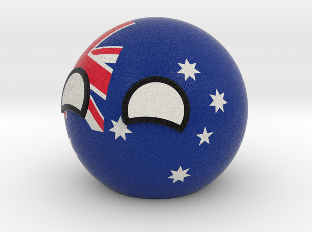 Australiaball in Full Color Sandstone