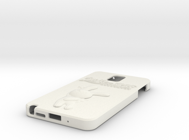 Tinkle Note 3 Case in White Natural Versatile Plastic