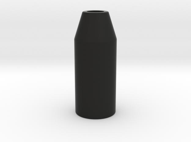Lamp Housing2 in Black Natural Versatile Plastic
