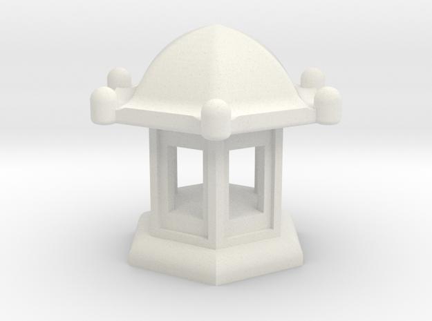 Spirit House - Elegant in White Natural Versatile Plastic