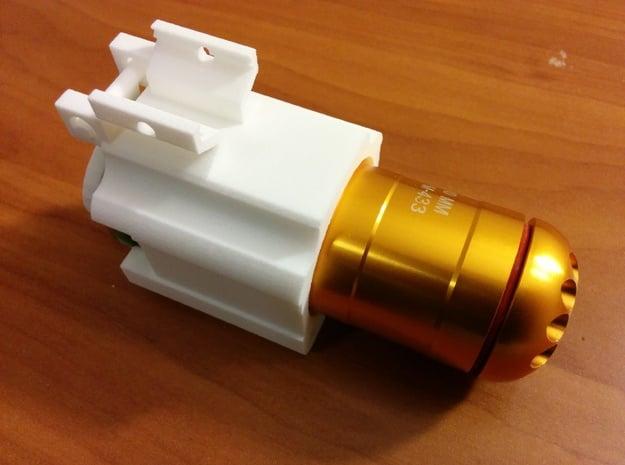Helio M7203 (Short) in White Natural Versatile Plastic