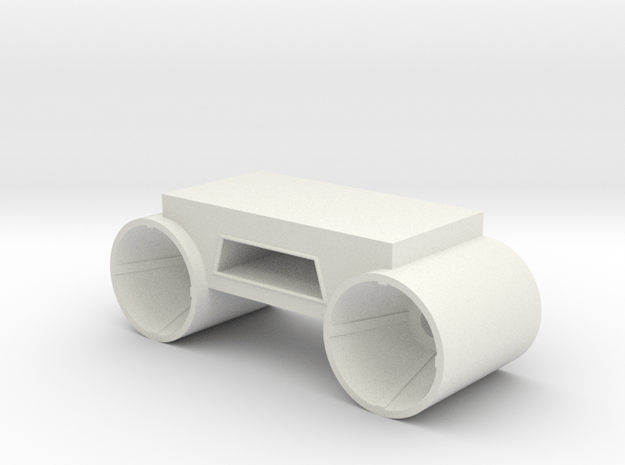 Stern Engines Port V0.1 in White Natural Versatile Plastic