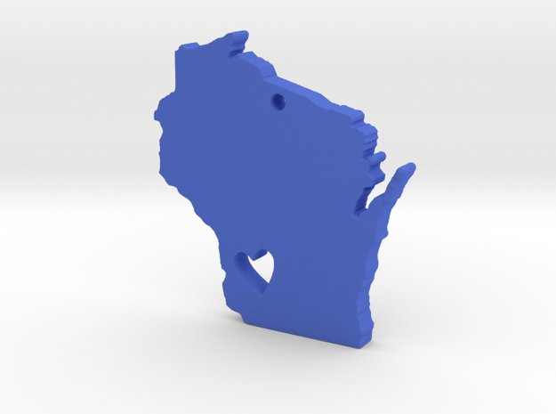 I Heart Wisconsin Necklace