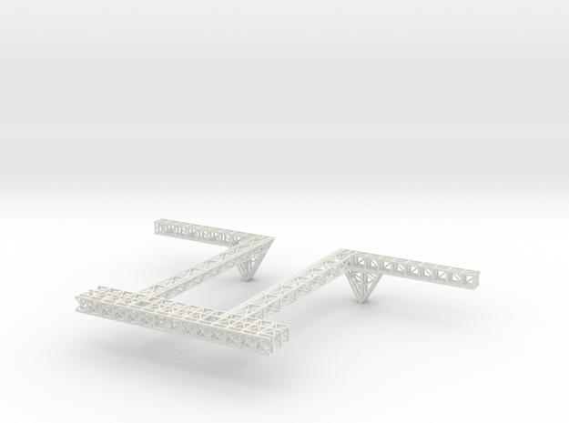 Stern Deck Upper Central V0.5 in White Natural Versatile Plastic
