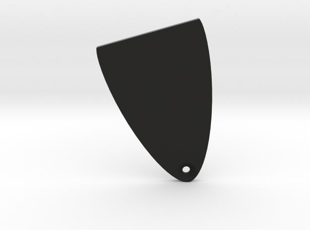 PRS Truss Rod Cover in Black Natural Versatile Plastic