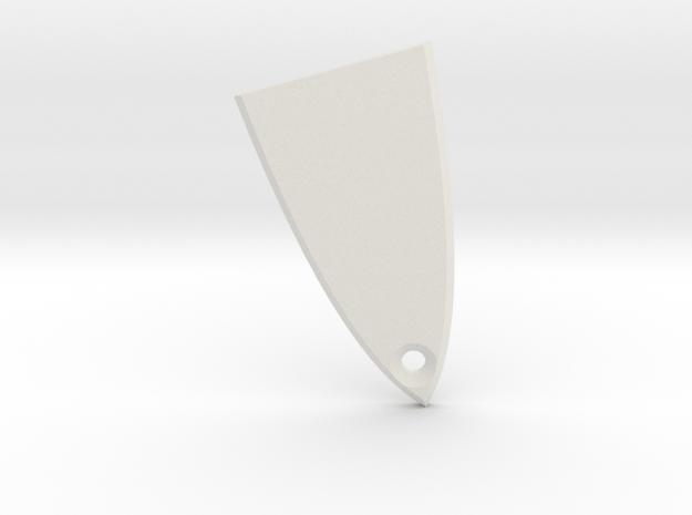 ESP/LTD Truss Rod Cover in White Natural Versatile Plastic