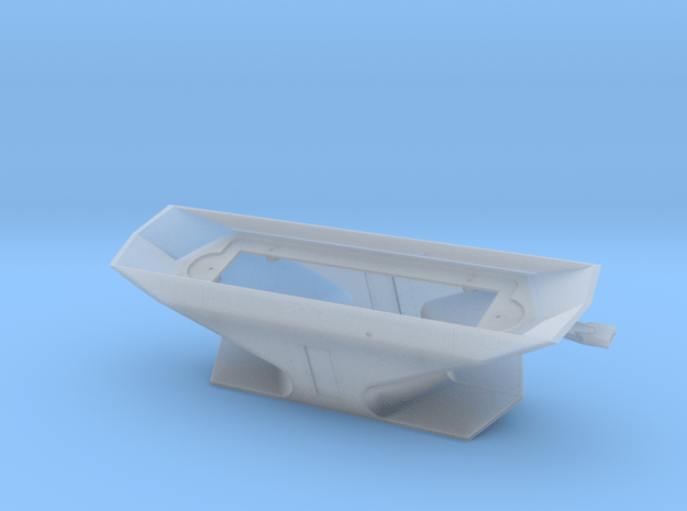 S Scale CNR Double Ended Plow Body in Smooth Fine Detail Plastic