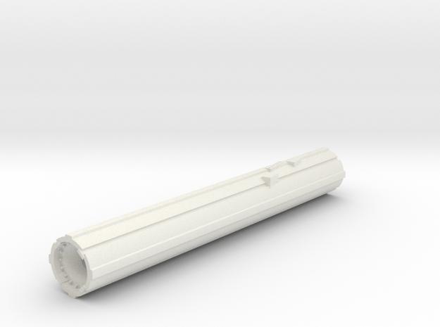 Main Engine Port V0.2 in White Natural Versatile Plastic