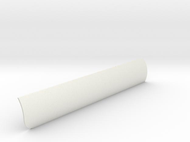 Heat Shield Port V0.1 in White Natural Versatile Plastic