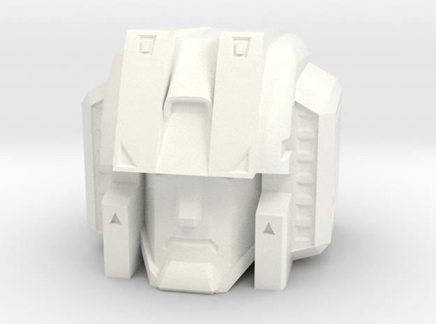 MP Seeker Head 11-6-14 in White Processed Versatile Plastic