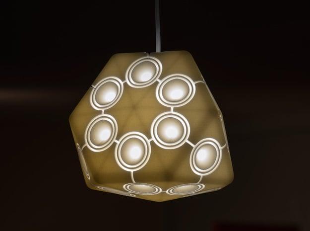 Minipod Pendant Lamp in White Natural Versatile Plastic