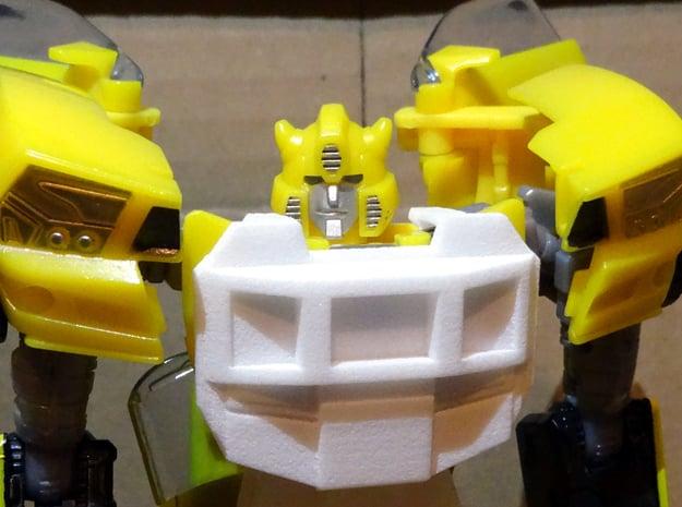 Gen. Windcharger (G1 Version) Chestplate in White Processed Versatile Plastic