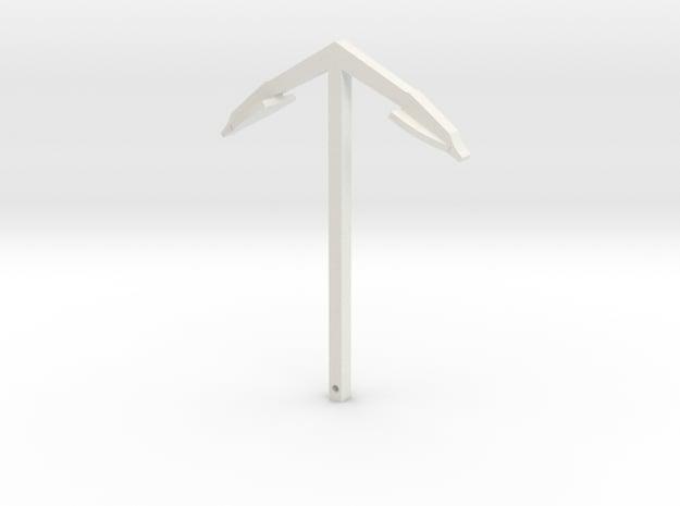 Anchor in White Natural Versatile Plastic
