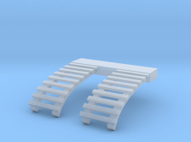 O Scale Roof Ladders for B&QT 8000 Trolley in Smooth Fine Detail Plastic