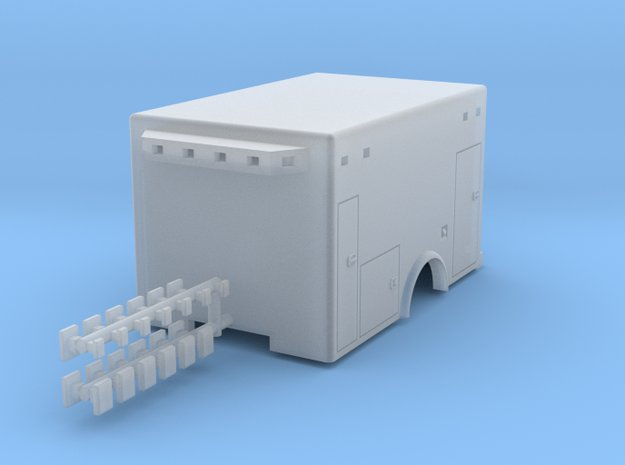 AMBULANCE-PRINT in Smooth Fine Detail Plastic