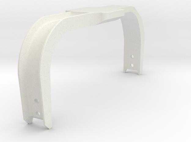 Bumper Rail Assembly in White Natural Versatile Plastic