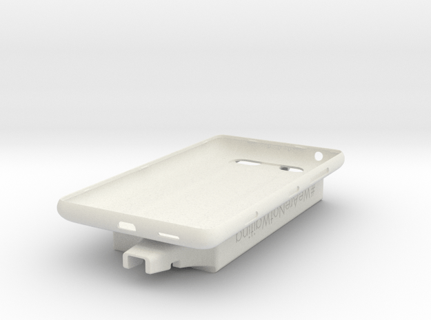 Lumia 820 / Dexcom Case - NightScout or Share in White Natural Versatile Plastic
