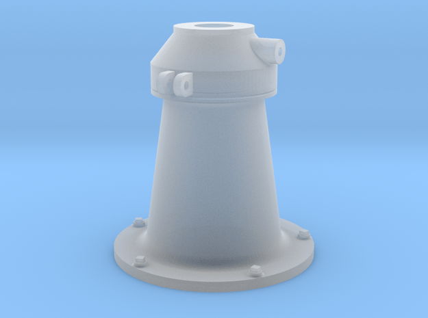1:16 scale 20mm Gun Pedestal (early, Mk.4) in Smooth Fine Detail Plastic