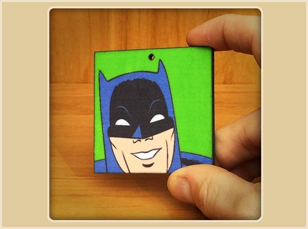Batman Toon Ornament in Full Color Sandstone