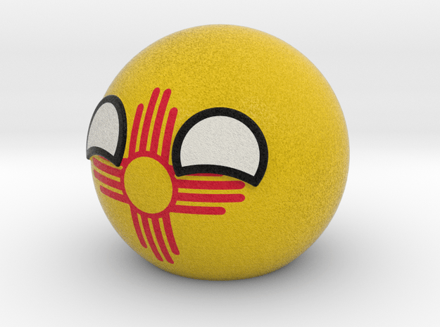 New Mexicoball in Full Color Sandstone