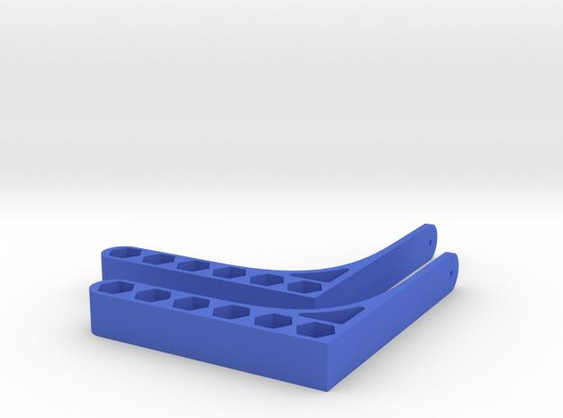 Pencil Shelf in Blue Processed Versatile Plastic