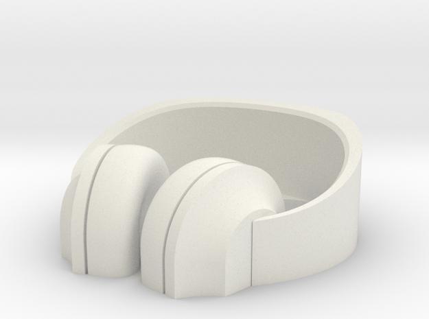 Headphone Stand#2 in White Natural Versatile Plastic