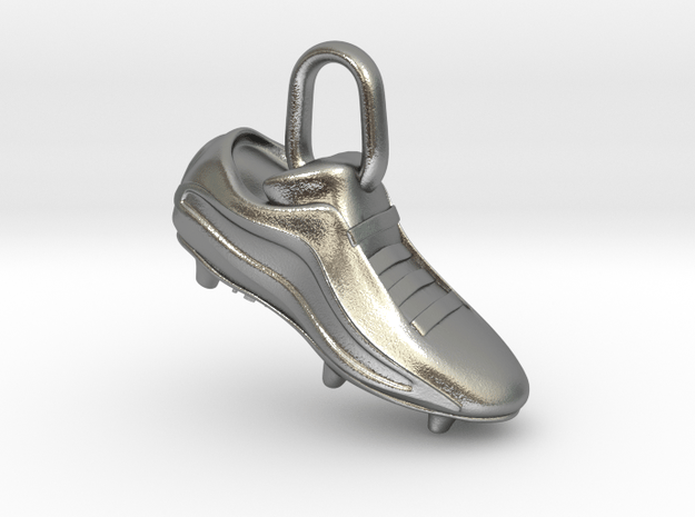 Soccer shoe in Natural Silver