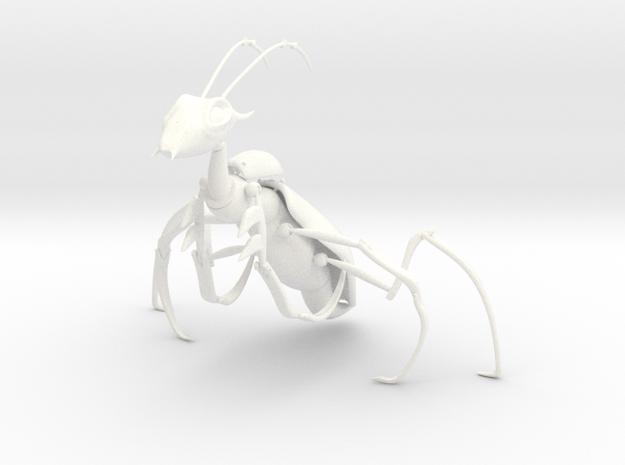 Mantor in White Processed Versatile Plastic