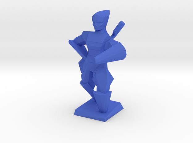 Blue in Blue Processed Versatile Plastic