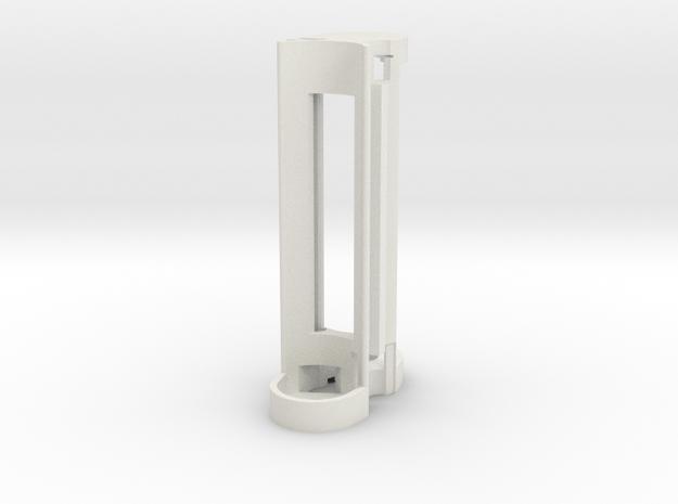 Mechanical Internal Frame V1a in White Natural Versatile Plastic