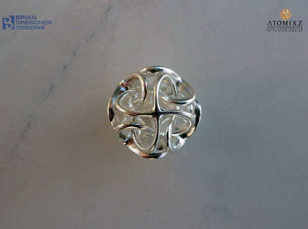 Octa Bladez - 20mm in Natural Silver
