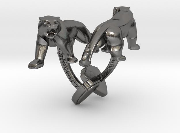 TwinTigers -Cuffs- in Polished Nickel Steel