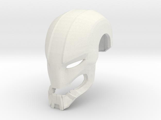 Ultron Helmet in White Natural Versatile Plastic