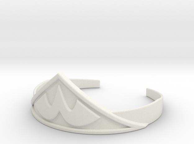 Wonder Woman's Tiara 1:1 in White Natural Versatile Plastic